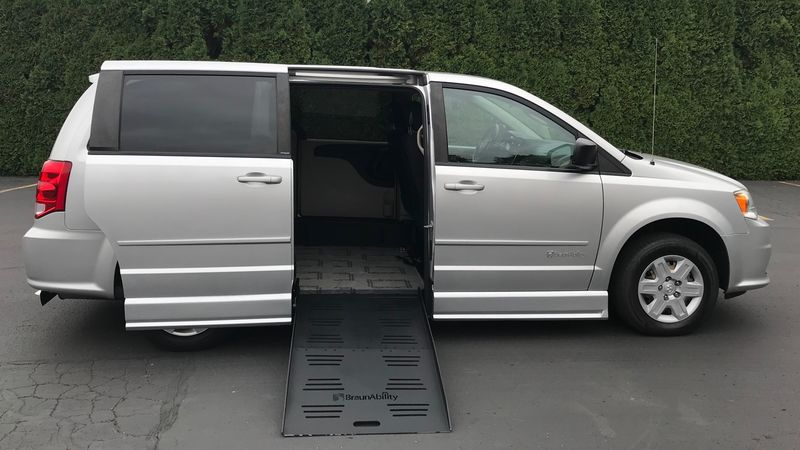 Used 2011 Dodge Grand Caravan.  ConversionBraunAbility Dodge CompanionVan
