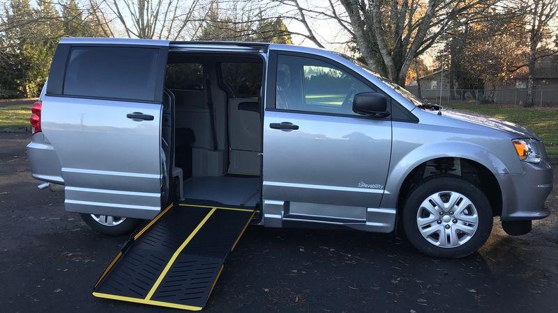 New 2019 Dodge Grand Caravan.  ConversionEldorado National Amerivan Dodge & Chrysler Amerivan PT
