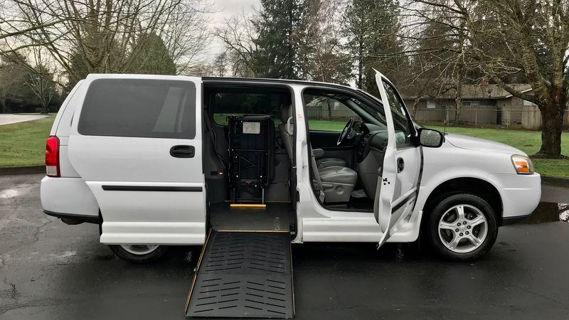 Used 2008 Chevrolet Uplander.  ConversionEldorado National Amerivan Dodge & Chrysler Amerivan PT